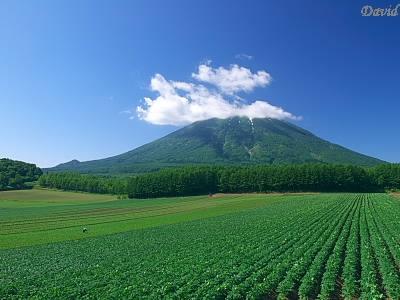 蝦夷富士の羊蹄山