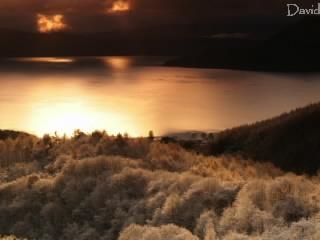 洞爺湖 樹氷