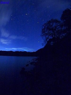 クッタラ湖の星空
