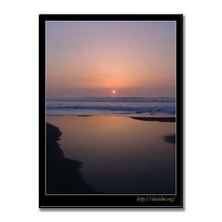 イタンキ浜の穏やかな朝