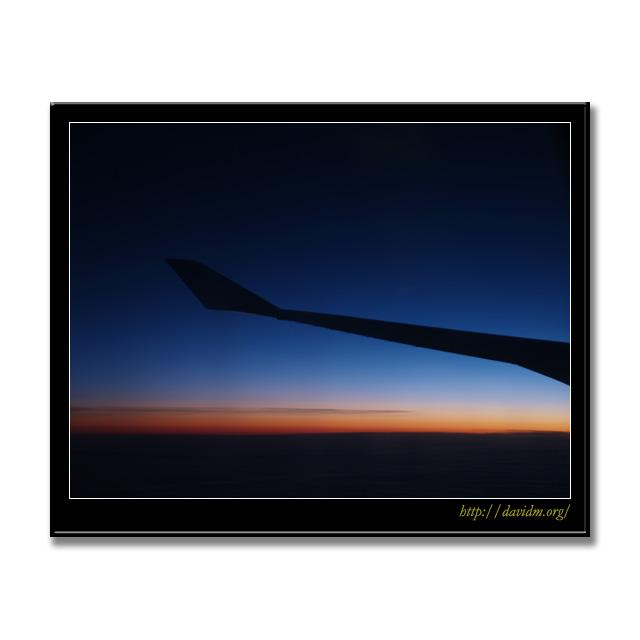 ケンタッキー州 機上の朝