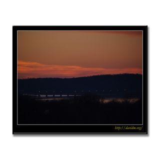 ケンタッキー州 夕暮れの橋