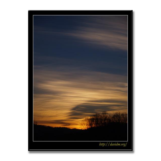ケンタッキー州 朝の風景
