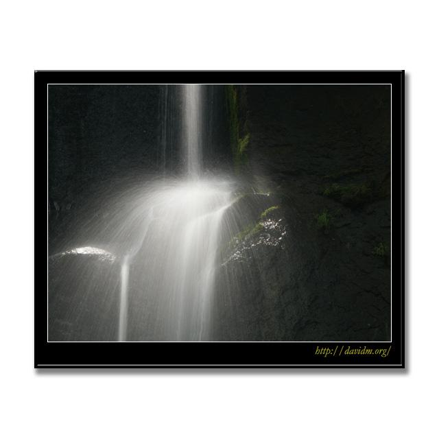 滝野すずらん公園 光の滝