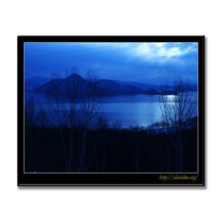 月夜と洞爺湖