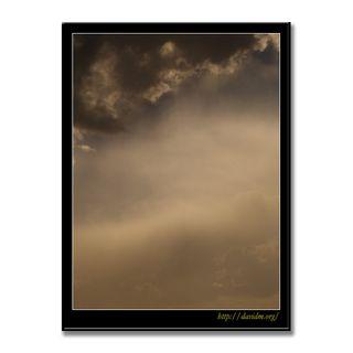 雲が描いた空