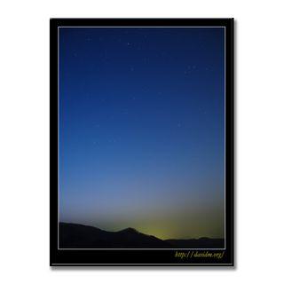 室蘭岳の星空