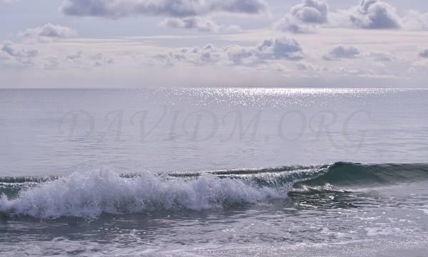 冬のイタンキ浜の写真