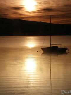 洞爺湖にて写真展
