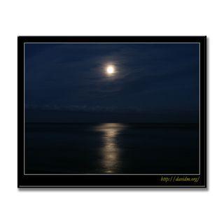 イタンキ浜の月夜