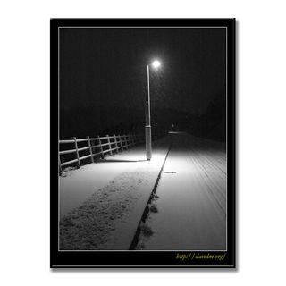 洞爺湖町 夜の明かり