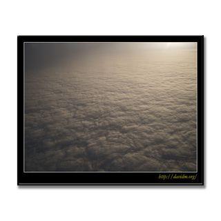 ケンタッキー州上空 雲の絨毯