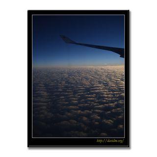 ケンタッキー州上空 機上からの風景