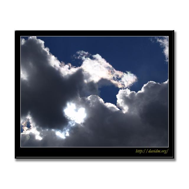 ケンタッキー州 彩雲