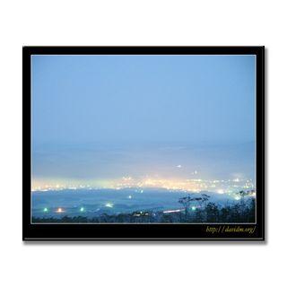 霧の弟子屈町の朝