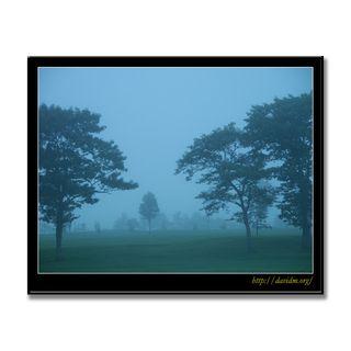 霧の弟子屈郊外