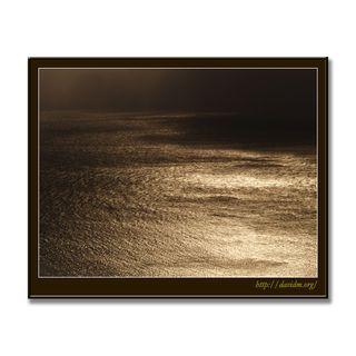 風と光で描かれた海