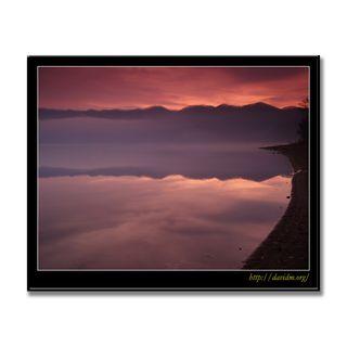 霧が浮かぶクッタラ湖の朝