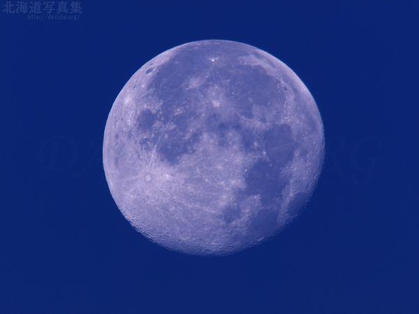 今月の壁紙:明け方の満月
