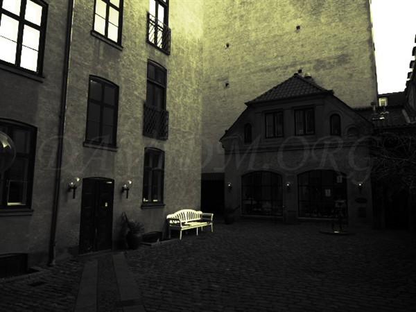 コペンハーゲンの路地裏