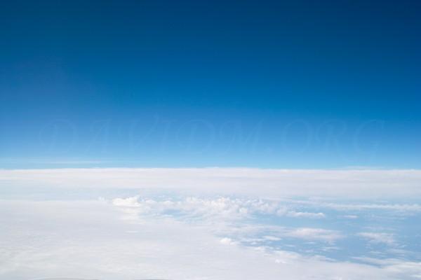 雲海の空の写真