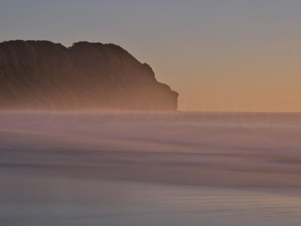 室蘭の朝の風景