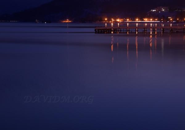 洞爺村の夜景