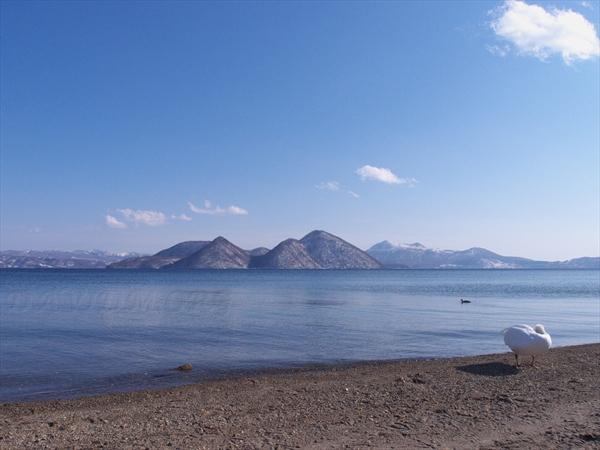 洞爺湖畔の午後