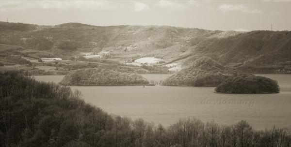 洞爺湖の月浦