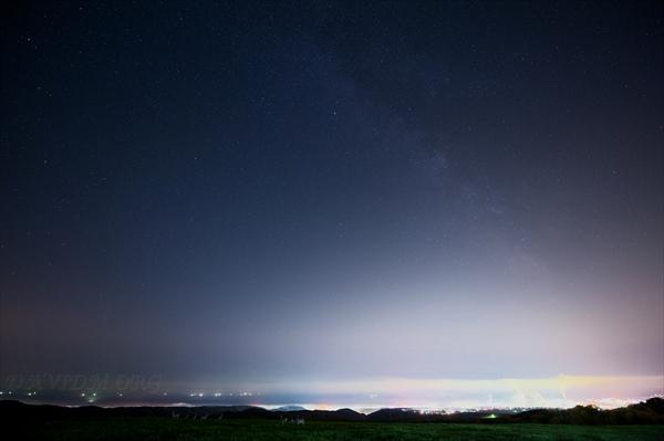 室蘭の星景写真