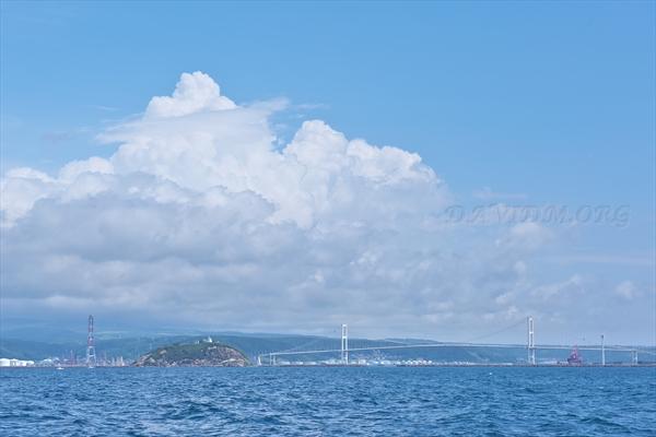 室蘭の白鳥大橋の写真