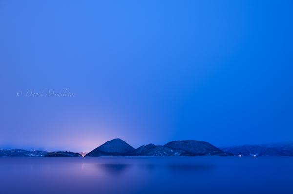 洞爺湖の静寂な朝