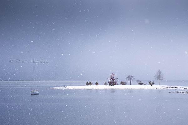 洞爺湖の浮見堂