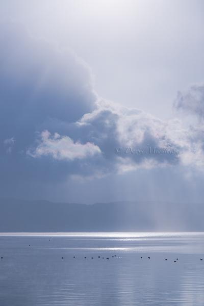 洞爺湖の彩雲