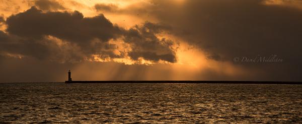 室蘭港と噴火湾
