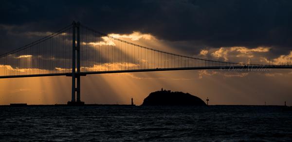 白鳥大橋と大黒島