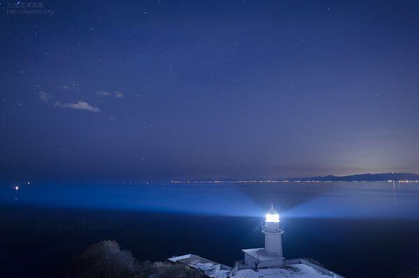 今月の壁紙: 地球岬の星空