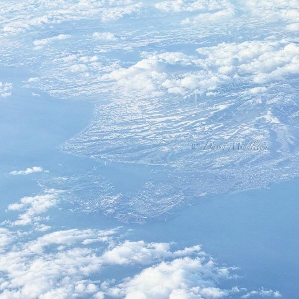 空から見る室蘭