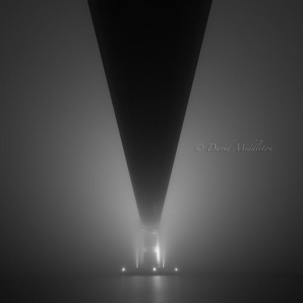 白鳥大橋と霧