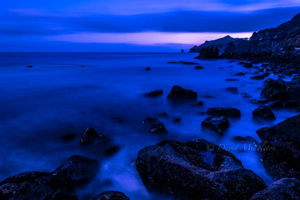 イタンキ浜の夜