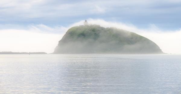 霧と大黒島